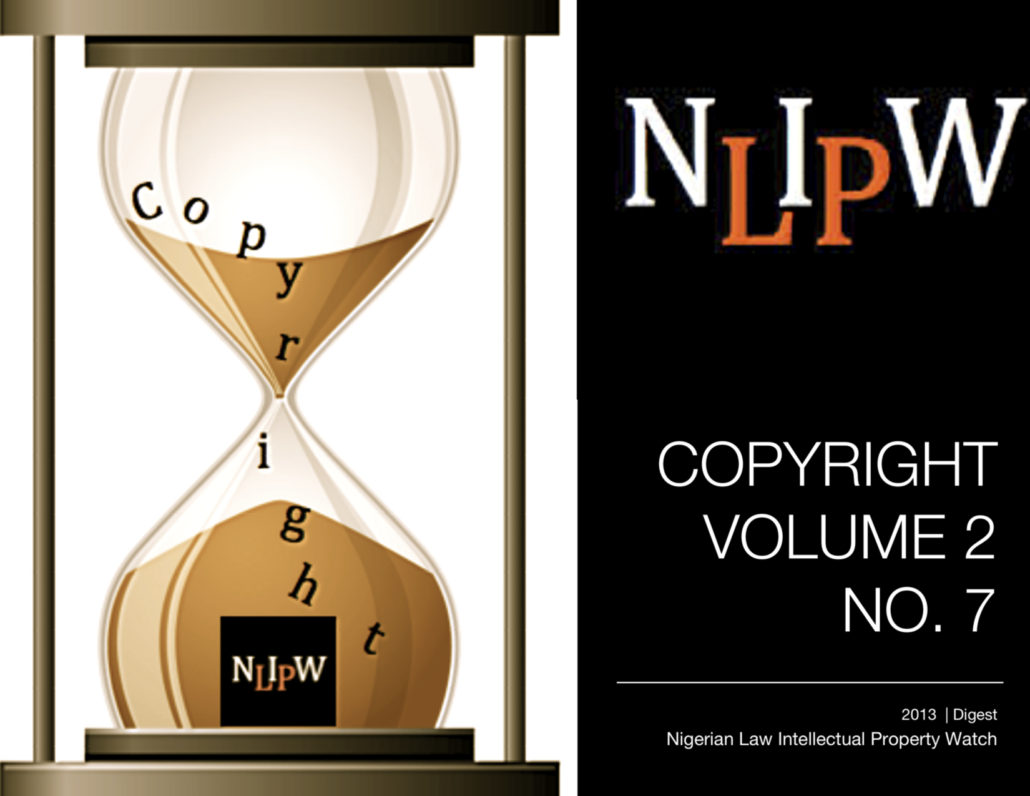Copyright Vol. 2 No. 7