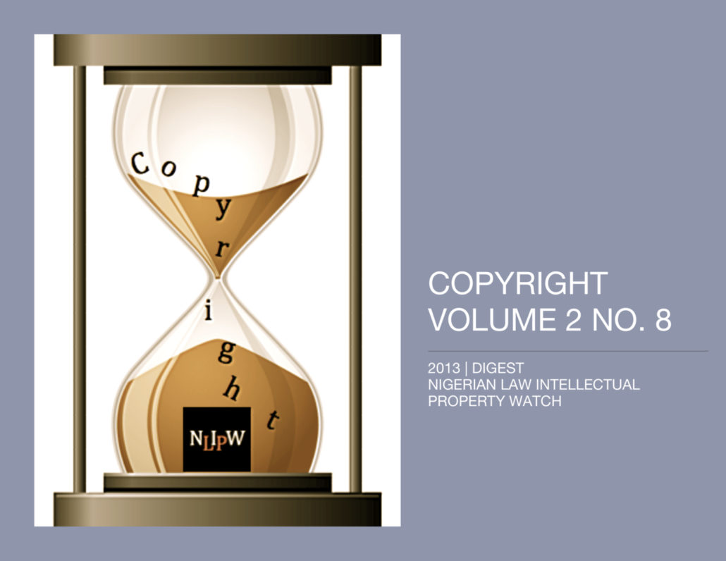 Copyright Vol. 2 No. 8
