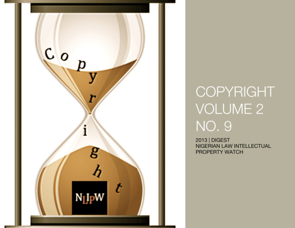 Copyright Vol. 2 No. 9