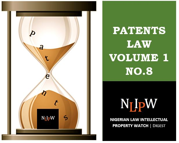 Patents Vol. 1 No. 8