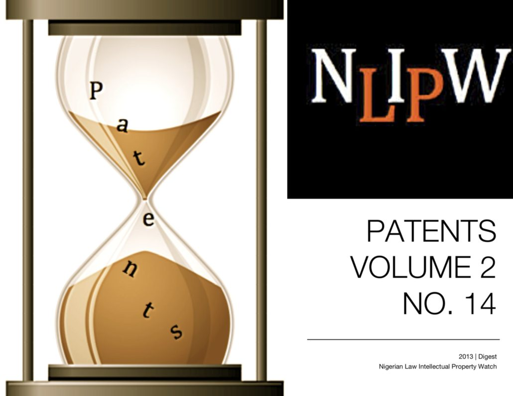 PATENTS VOL. 2 NO. 14
