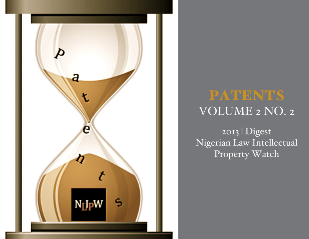 PATENTS VOL. 2 NO. 2