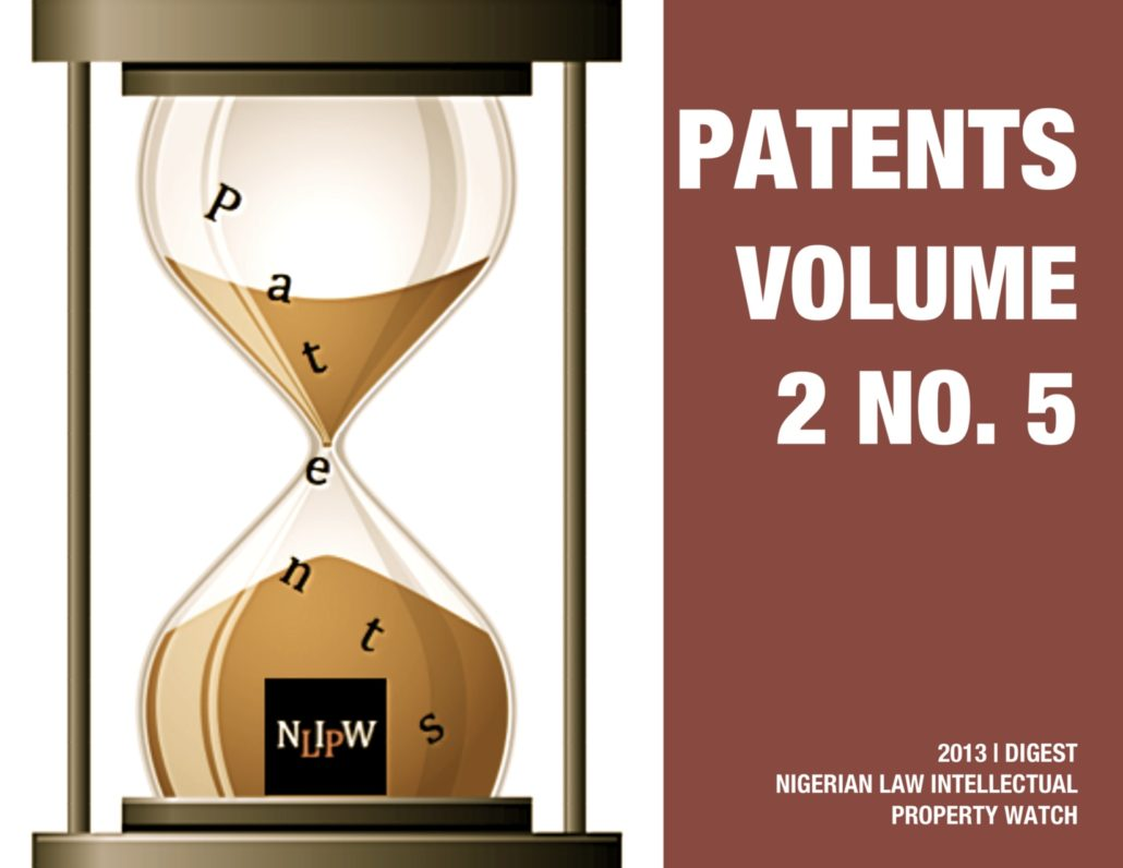 PATENTS VOL. 2 NO. 6