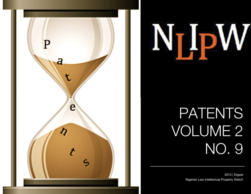 PATENTS VOL. 2 NO. 9
