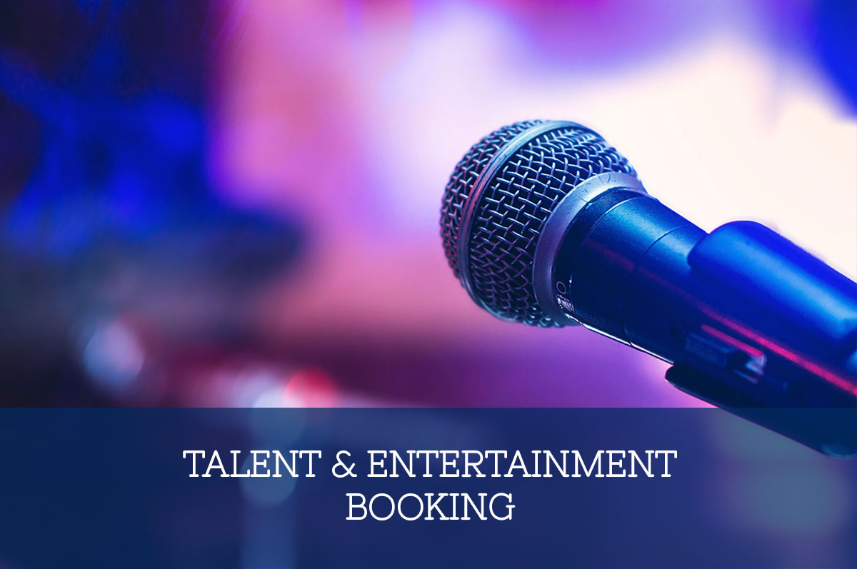 Talent & Entertainment Booking