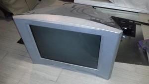 Goodbye to the old jumbo tv!