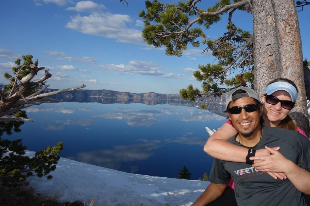 Jon & CB at Crater Lake