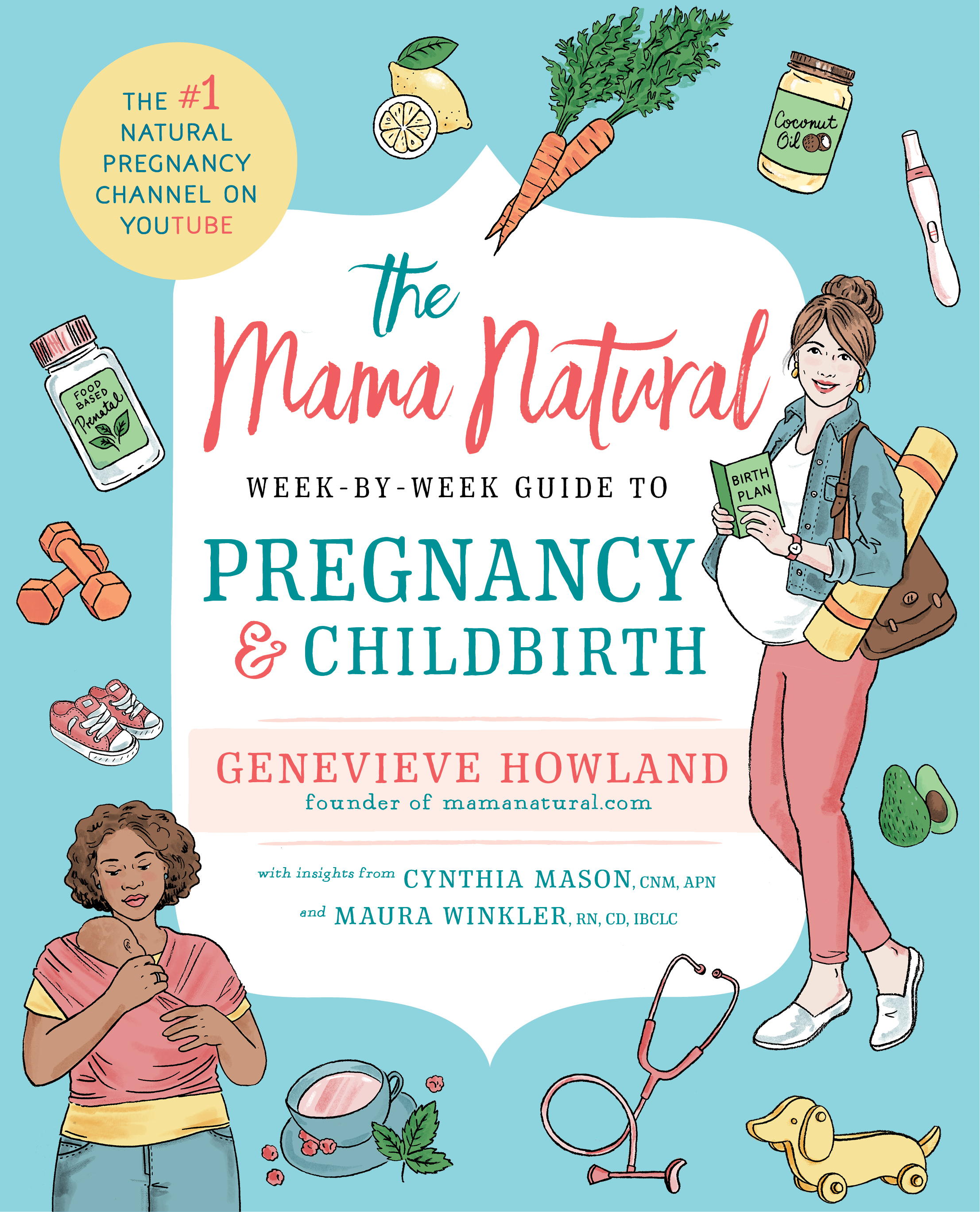 Guide to Pregnancy and Childbirth: Book Review for Natural Mamas