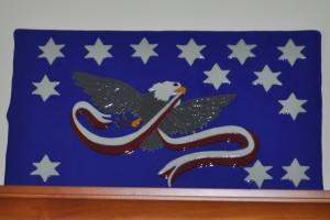 Whiskey Rebellion celebration flag