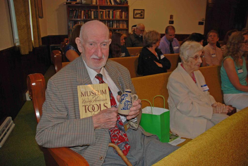 Oldest Descendant attending, J. Robert  Rice