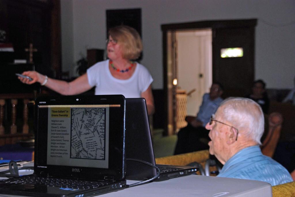 Mary Beth's presentation - Corbly house preservation