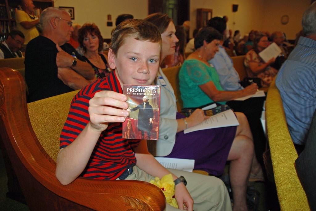 Youngest descendant,  Jack Arnold, Houston, TX