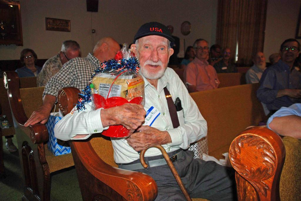 Oldest-Descendnat, J. Robert Rice