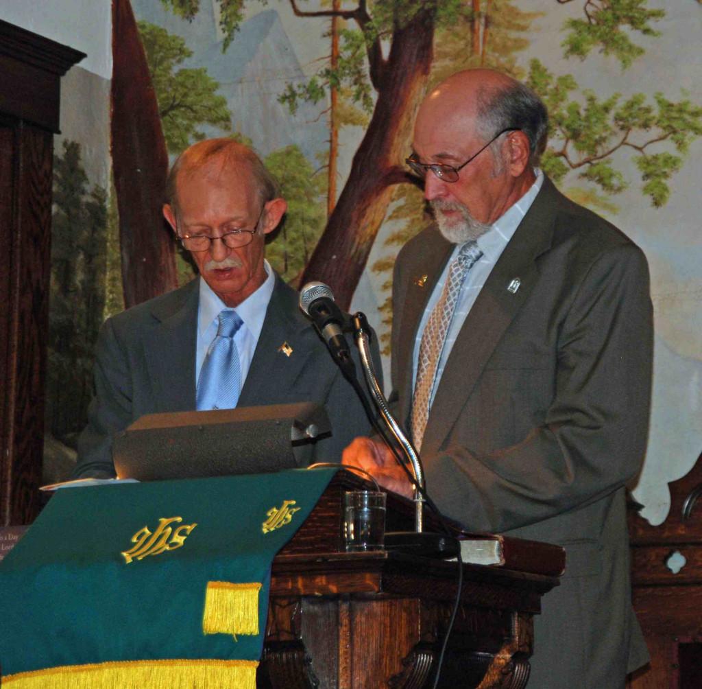 Rev Whipkey & Dave Reid