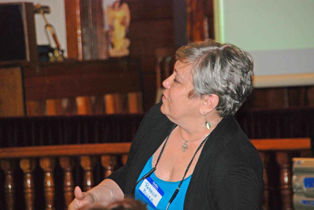 Featured Speaker Rebecca Kichta Miller DNA