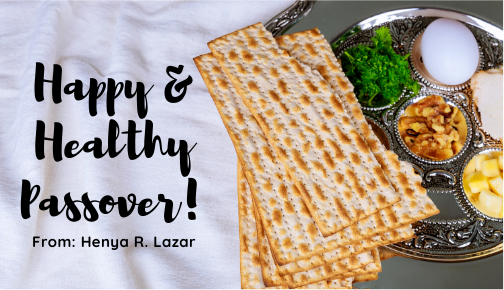 weight, Rebecca Lazar - 10 TIPS FOR HEALTHY EATING ON PASSOVER