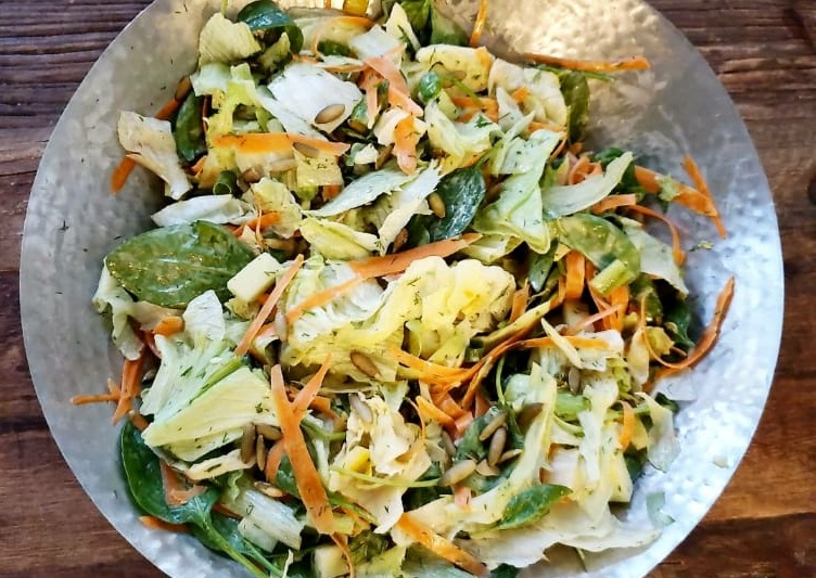 weight, Rebecca Lazar - SALAD WITH CREAMY DILL DRESSING