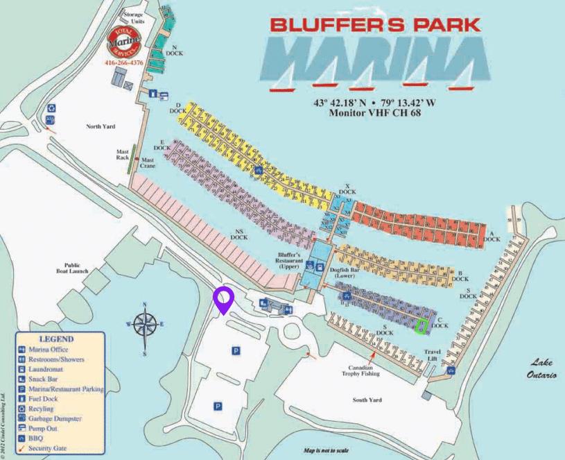 bluffers-park-marina-map