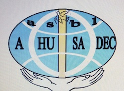 AHUSADEC logo (Humanitarian Action for Health and Development Community)