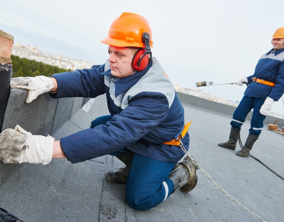 commercial roof installation