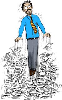 Mental Health Billing - Cartoon of Philip Yucht