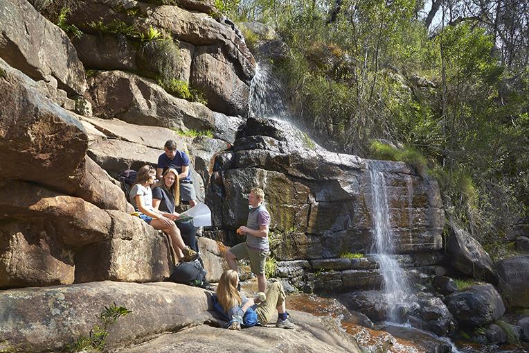 Spitters Falls / Wonderland Range, Grampians National Park