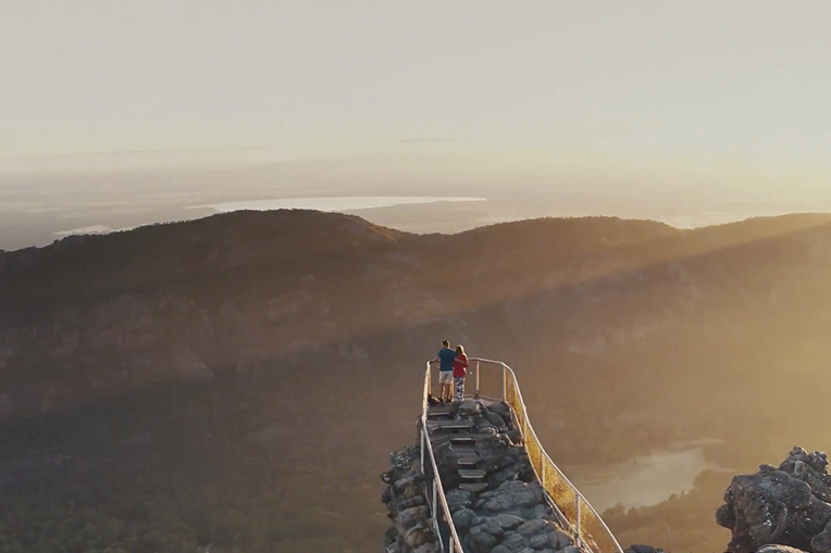 The Pinnacle Lookout in the Central Grampians