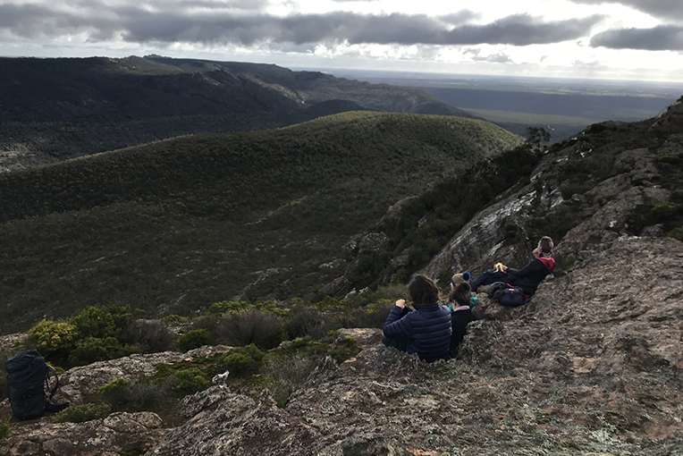 Stunning views on our Northern Luxe tour of the Northern Grampians.