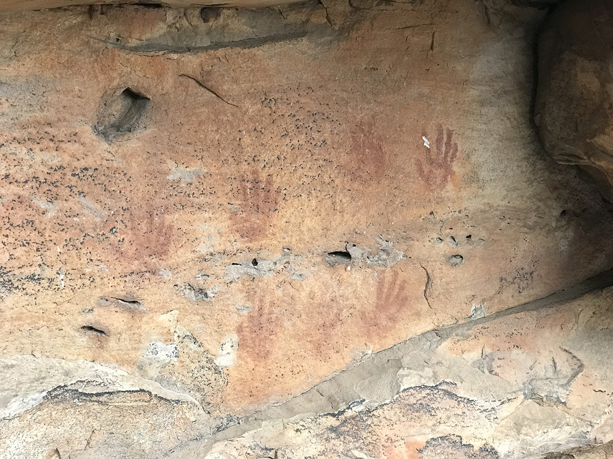 Ancient Indigenous Art in the Northern Grampians.