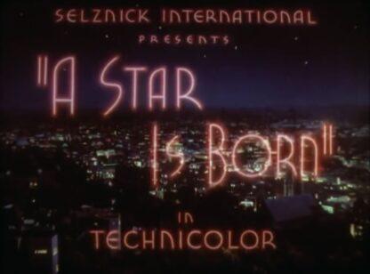 A Star Is Born DVD 1937