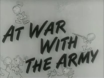 At War With The Army DVD Musical Comedy