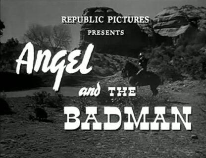 Angel and the Badman DVD 1947