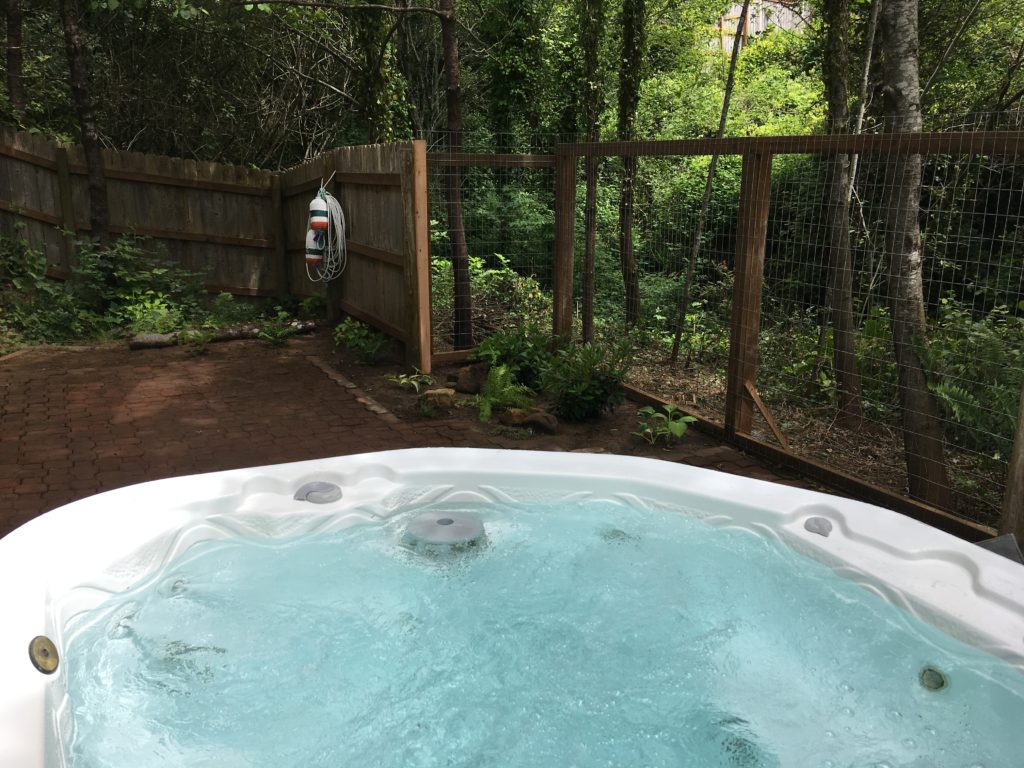Hot Tub with Trees View