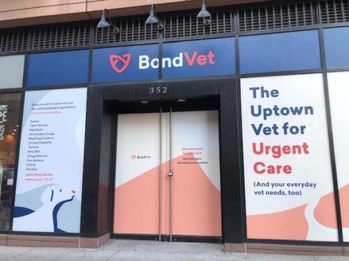 Bond Vet Exterior Storefront