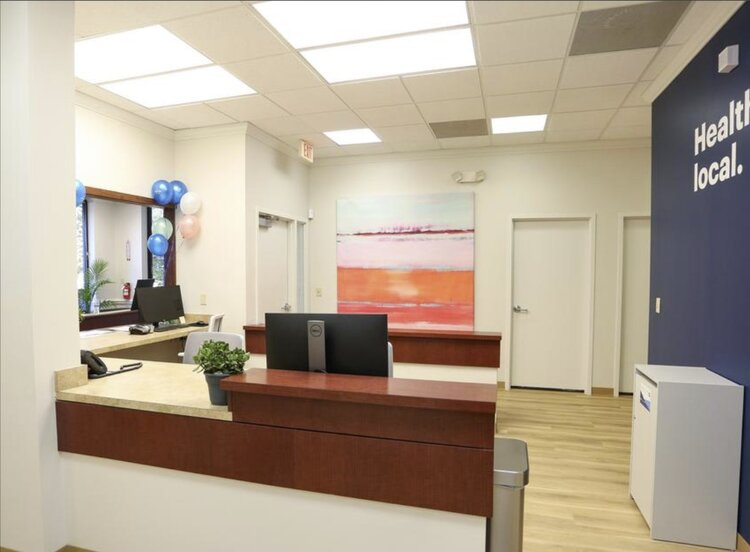 Cityblock Health interior service desk