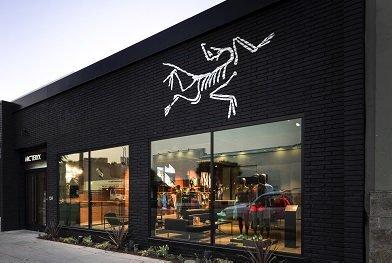 Arc'Teryx exterior storefront