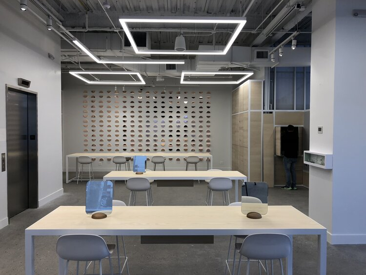 focals by North interior desks