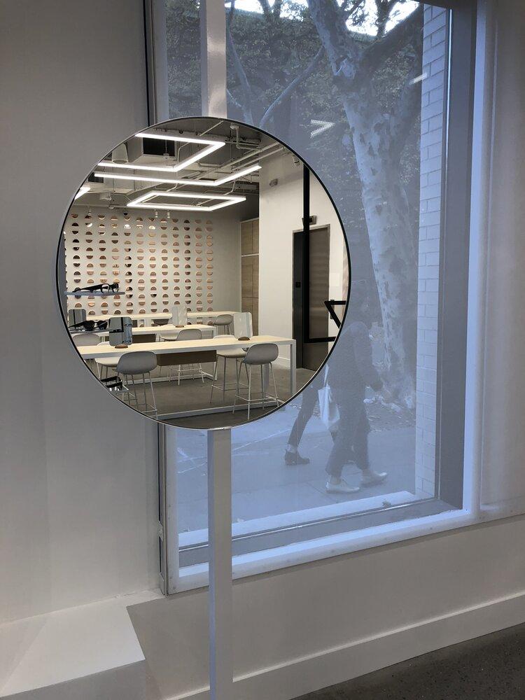 focals by North mirror