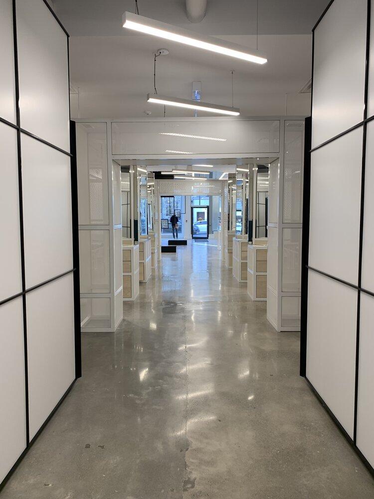 focals by North exam room entrances