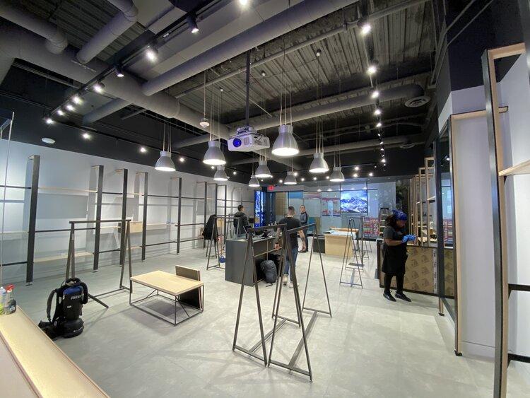 Arc'Teryx Interior Display Construction