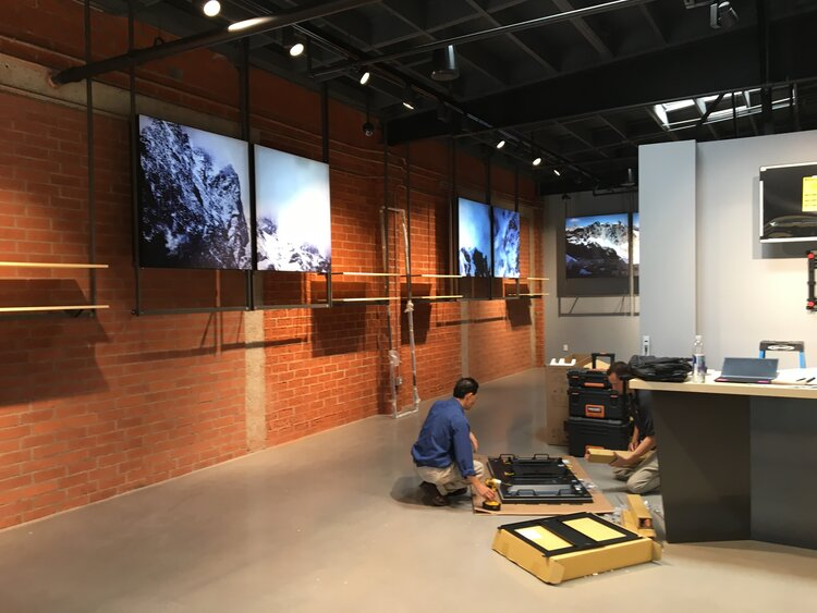 Arc'Teryx Interior Store Construction