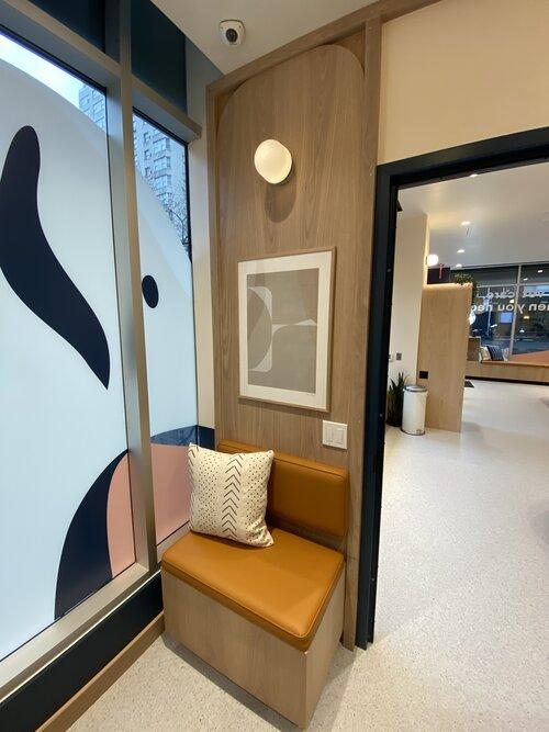 Bond Vet Waiting Area