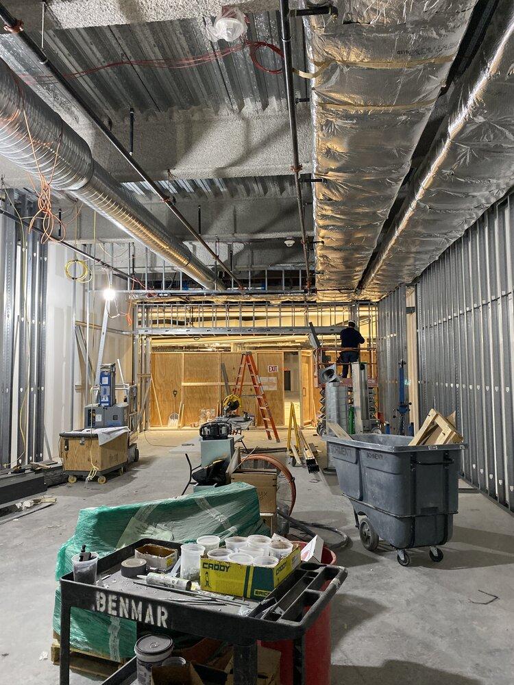 Arc'Teryx Interior frame construction