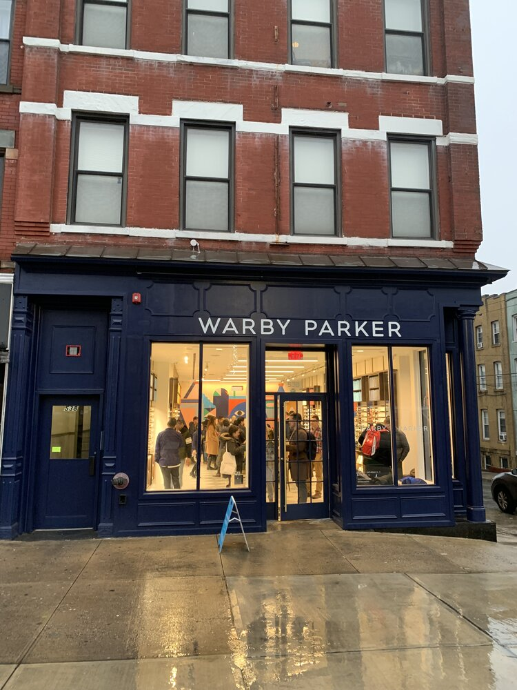 Warbly Parker exterior