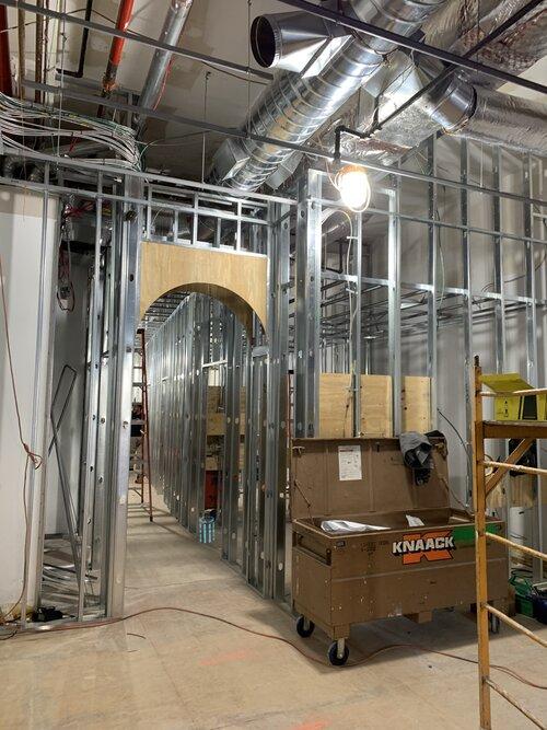 Bond Vet framing construction