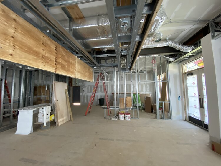 Cobs Bread interior construction