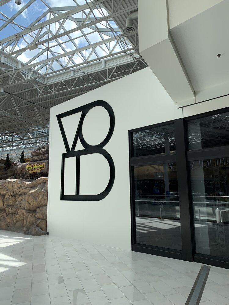 The Void interior sign