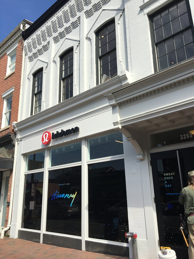 lululemon athletica exterior
