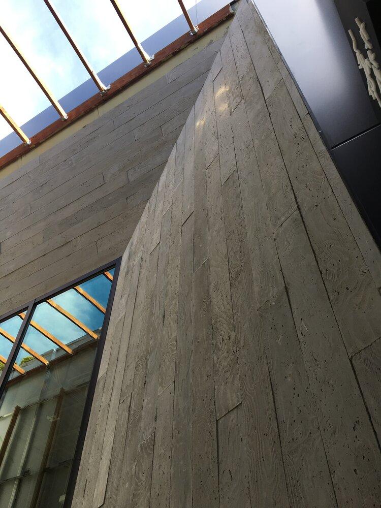 Arc'Teryx Interior wall and skylight construction