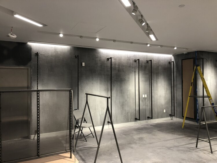 lululemon athletica interior construction